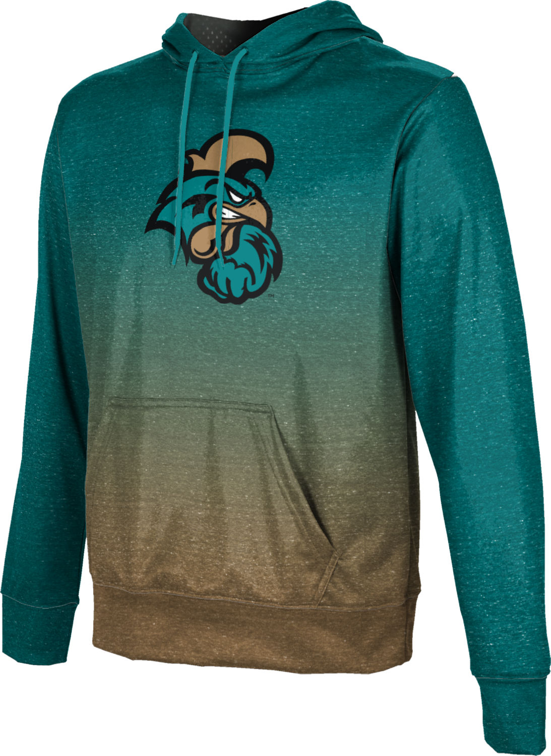 ProSphere Boys' Coastal Carolina University Ombre Pullover Hoodie