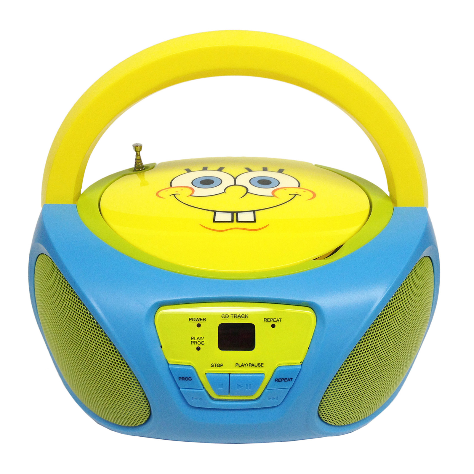 SpongeBob SquarePants CD Boombox with AM FM Radio Walmart