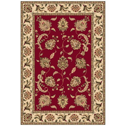 Dynamic Rugs Shiraz 51026 Floral Persian Rug - Red