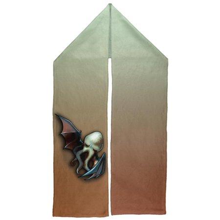 Halloween Pet Cthulhu Horror Warm Fleece Scarf - Pier One Halloween Mantel Scarf