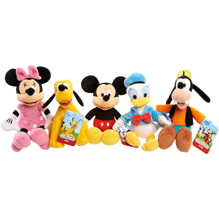 Disney Mickey Mouse Clubhouse Plush Characters, 5 Pack