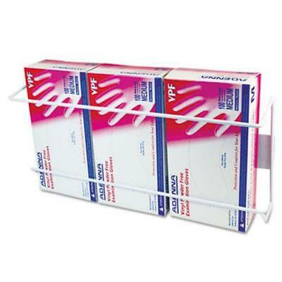 - Unimed Wire Wall-Mount Glove Box Holder, 3-Box, Stainless Steel,