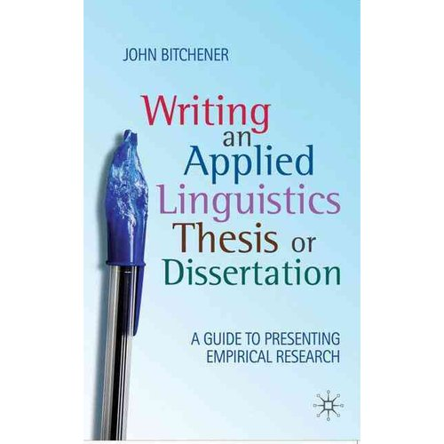 Linguistics how to write a research dissertation