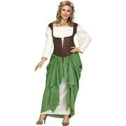 Medieval Wench Renaissance Fair Womens Plus Size Halloween Costume