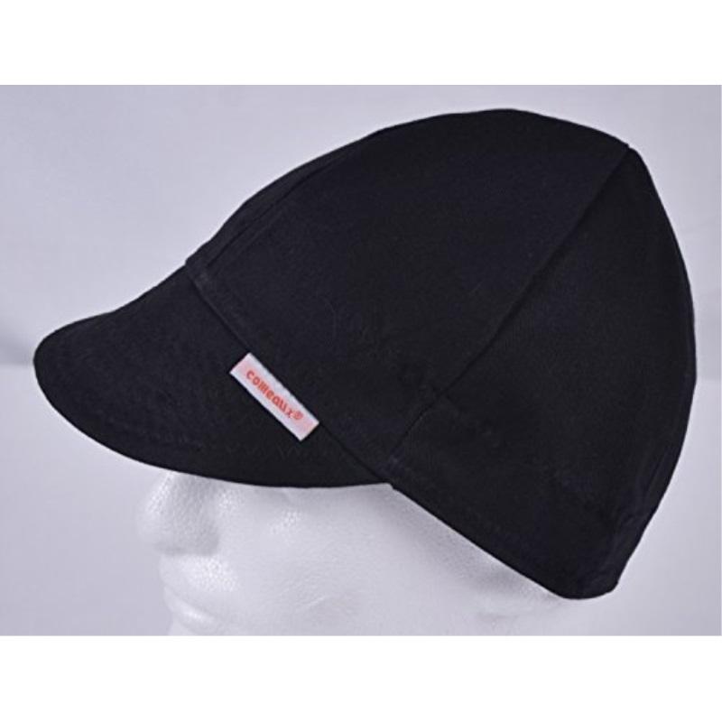 Comeaux Caps Reversible Welding Cap Solid Black 7 1/4