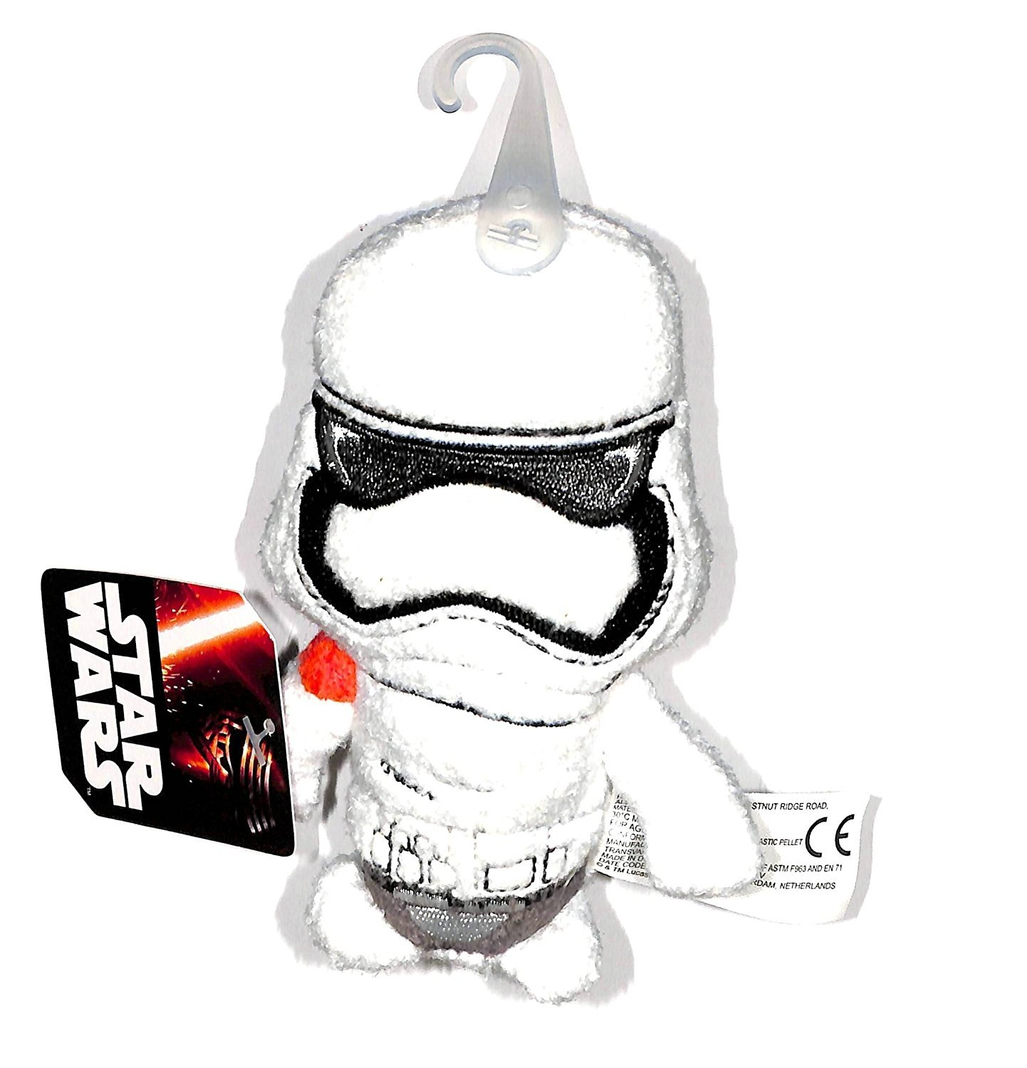 "Star Wars The Force Awakens Stormtrooper 4"" Plush Footzeez Comic Images Ep 7"
