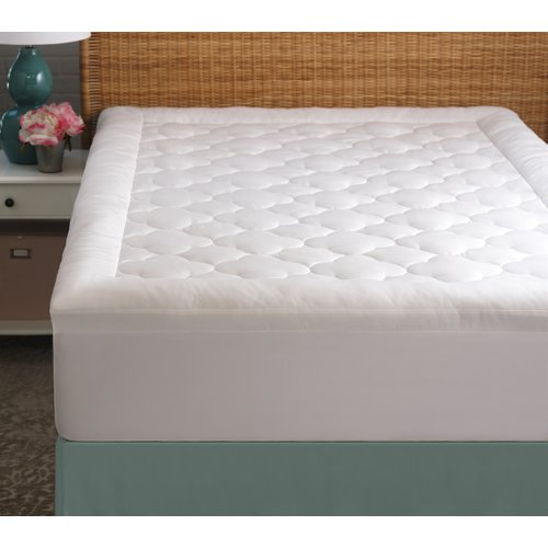 "Cozy Classics Clouds Mattress Protector, 2"" by Generic"