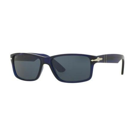 79022d6082 Persol - PERSOL Sunglasses PO 3154S 1047R5 Blue 58MM - Walmart.com