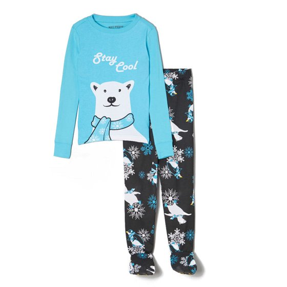 f01978c83 Big Feet Pajamas - Big Feet PJs 2 Piece Blue Footed Pajamas