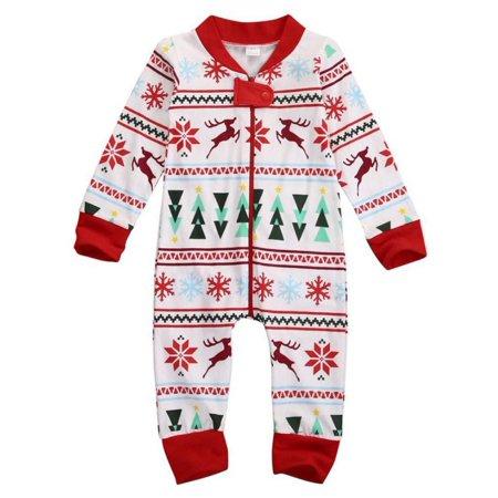 241fdf75bfb4 everbest - Rompers Striped Pajamas Sleepwear Romper Long Sleeve ...