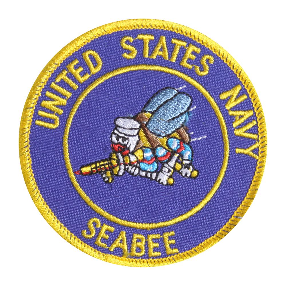 United States Navy Seabee Emblem Patch
