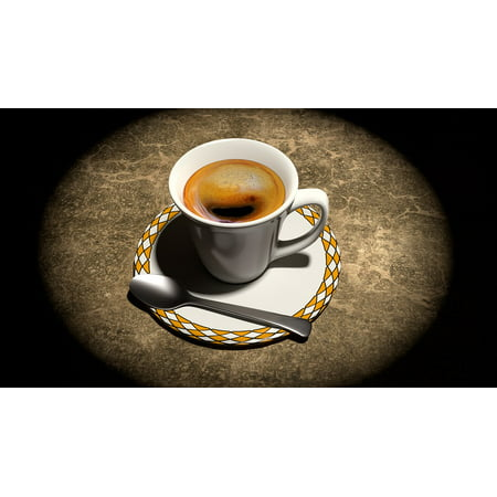 LAMINATED POSTER Blender Cup Still Life 3d Coffee Poster Print 24 x 36 - Vbs Posters