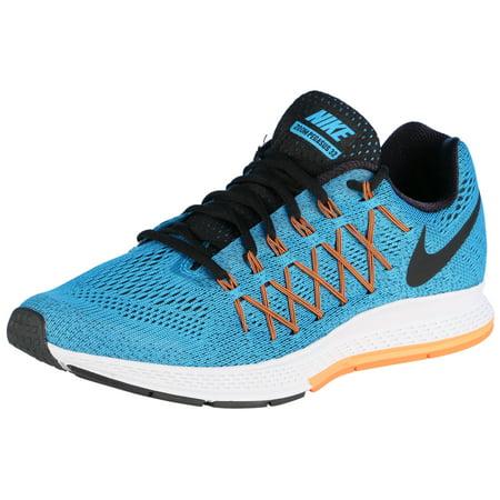 84f8f2a5e370 Nike - Nike Men s Wide Air Zoom Pegasus 32 Running Shoes-Blue Lagoon Bright  Citrus - Walmart.com