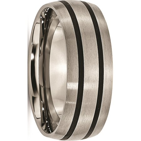 JbSP- Titanium Enameled 8mm Satin Band - image 6 of 6