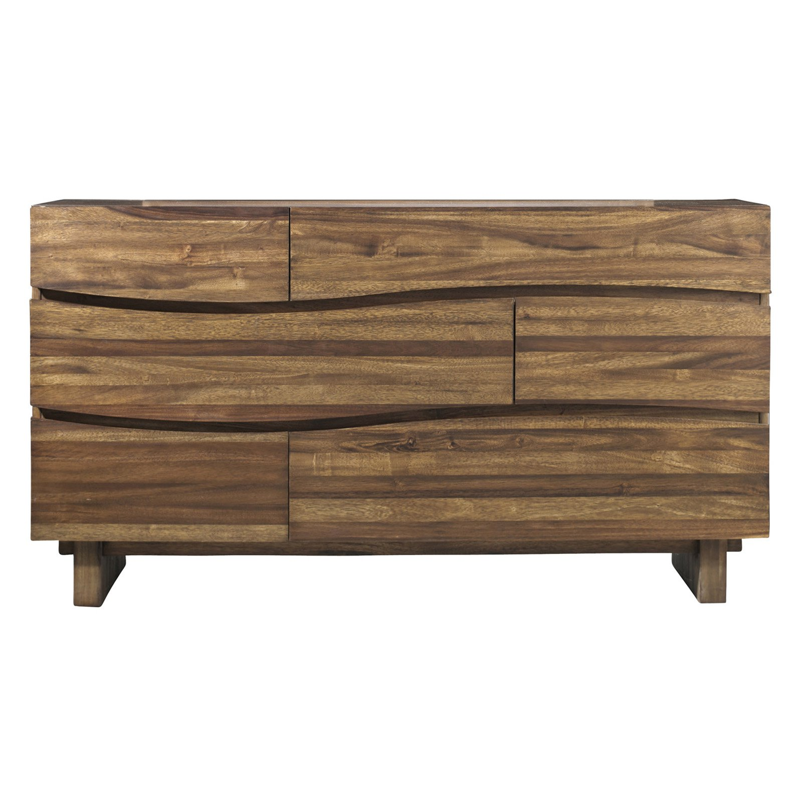 Modus Ocean 6-Drawer Dresser with Optional Mirror