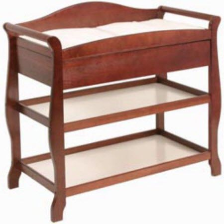 Storkcraft Aspen Changing Table with Drawer Espresso by Storkcraft