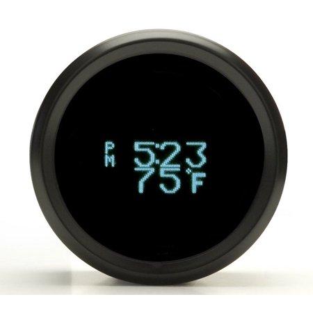 Dakota Odyssey Series Ii Round Clock Date Temperature Gauge Odyr 16 1
