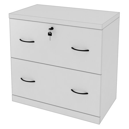 Z-Line 2-Drawer Lateral File - White