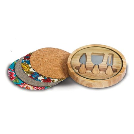 Picnic Plus 4 Piece (Picnic Plus Sagas 4 Piece Cheese Board and Platter Set )