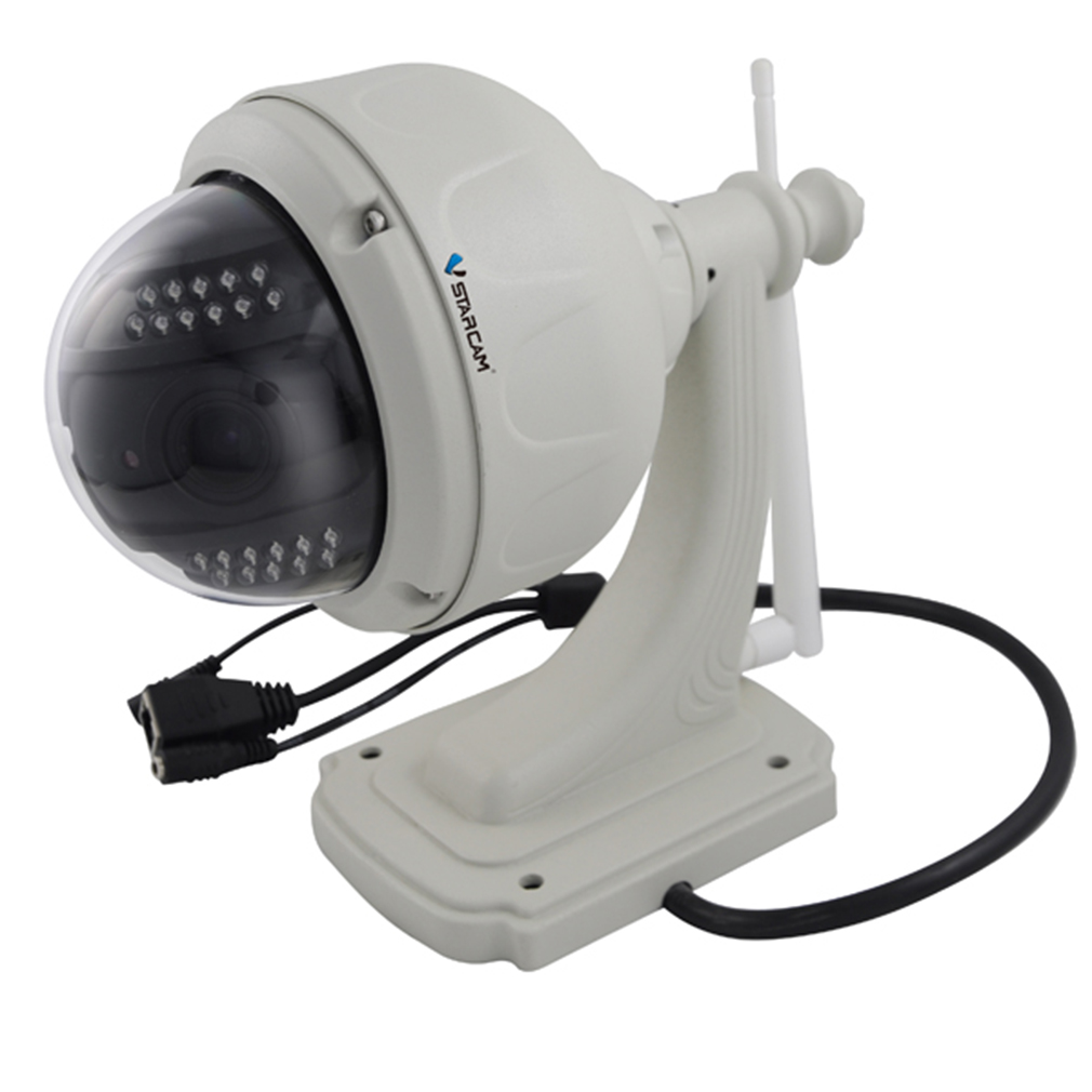 Night Vision IP Camera HD H.264 CMOS IR Audio Plug IR Vision Camera C7815IP Outdoor Indoor Home Security Surveillance Camera