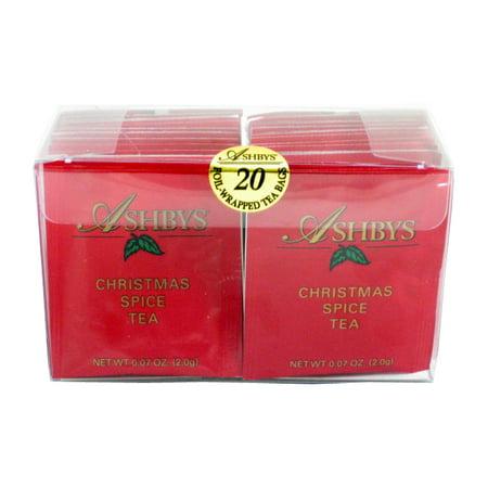Ashbys Christmas Spice Tea Bags, 20 Count Box ()