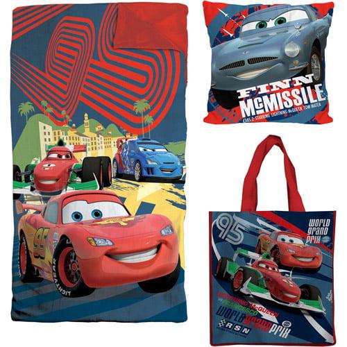 Character Slumber Bag, Pillow and Tote Set