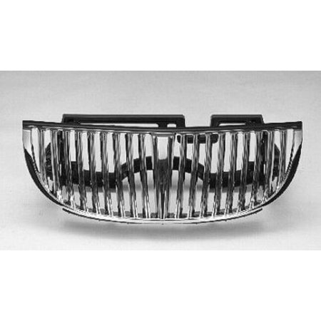 Lincoln Town Car Grille Assembly (CPP Grill Assembly for 1998-2002 Lincoln Town Car)
