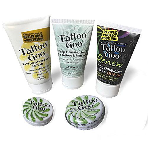 Tattoo Goo Walmart: Tattoo Goo Aftercare Kit Version XL New Formula