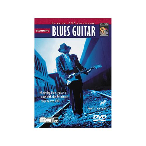 Alfred Beginning Blues Guitar Book & DVD