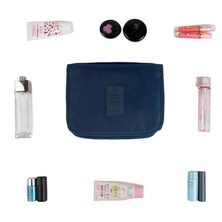 Women Makeup Cosmetic Toiletry Wash Travel Hanging Folding Shaving Large Capacity Multifunctional Storage Organizer Bag Pouch - image 3 de 4