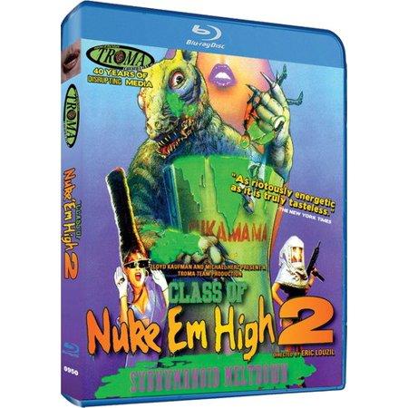 Class of Nuke 'Em High, Part II: Subhumanoid Meltdown (Class Of Nuke Em High Blu Ray)
