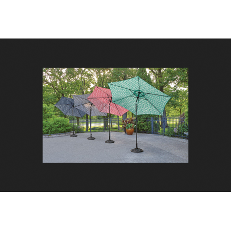 Living Accents 9 ft. Dia. Tiltable Patio Umbrella Navy ... on Living Accents Patio id=21703