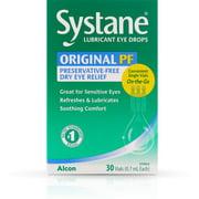 Systane Lubricant Eye Drops Vials 30 ea
