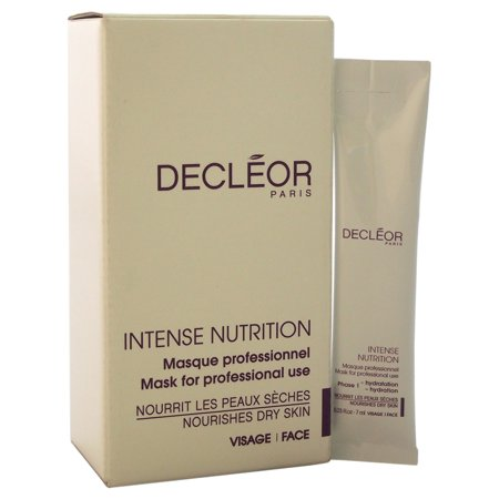 Dry Mask (Intense Nutrition Mask For Dry Skin by Decleor for Unisex - 10 Pc Kit 5 x 0.23oz Phase 1 -)