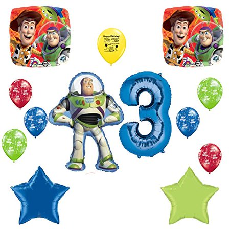 Toy Story Birthday Party Supplies (Toy Story Party Supplies Happy 3rd Birthday Balloon)