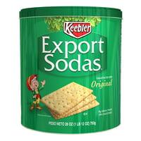 Keebler Export Sodas Original Crackers 28 oz can