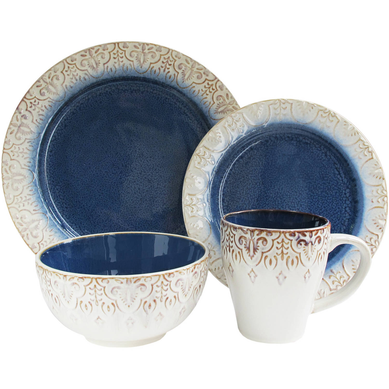 Granada 16-Piece Dinnerware Set
