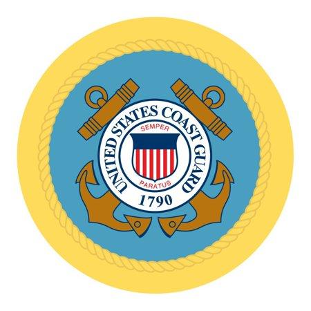 u s coast guard labels 1 1 2 30 labels per sheet 1 1 2 round