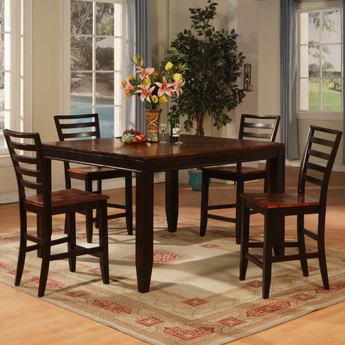 Wildon Home Counter Height Extendable Dining Table