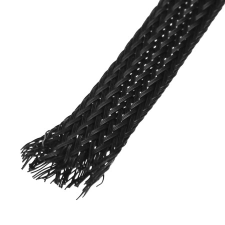 20M Length 8mm Width Nylon Braided Expandable Sleeving Cable Harness - image 1 of 2