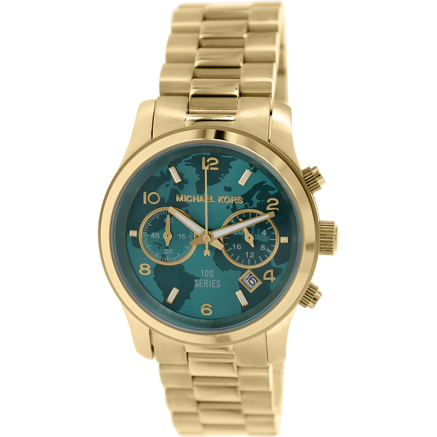 Michael Kors Women's Hunger Stop MK5815 Gold Stainless-Steel Quartz Fashion Watch