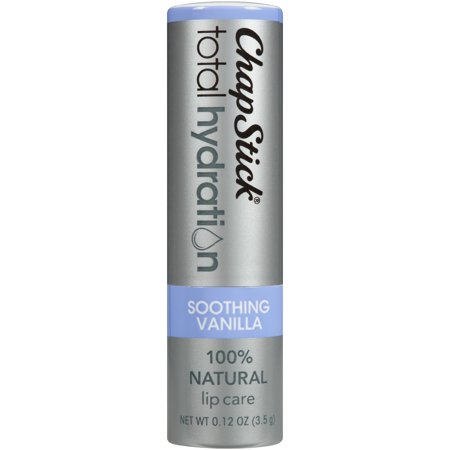 (2 pack) ChapStick Total Hydration Lip Balm, Soothing Vanilla