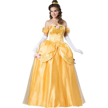 Disney Beauty and the Beast Belle Ultra Prestige Adult Costume](Adult Disney Belle Costume)
