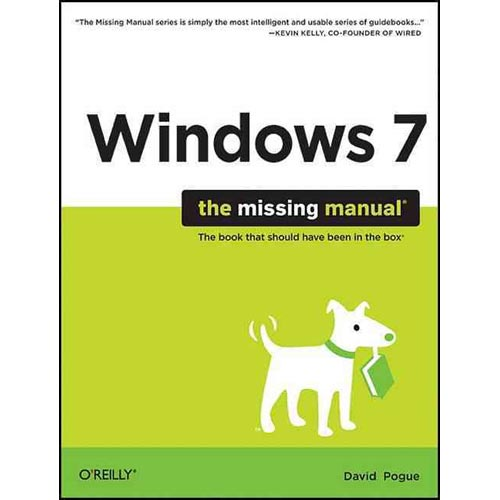 Windows 7 : The Missing Manual