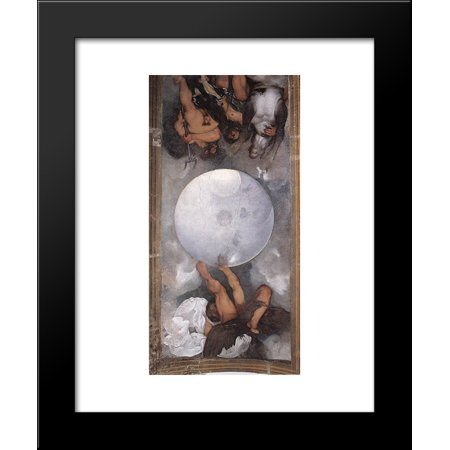 Jupiter  Neptune And Pluto 20X24 Framed Art Print By Caravaggio