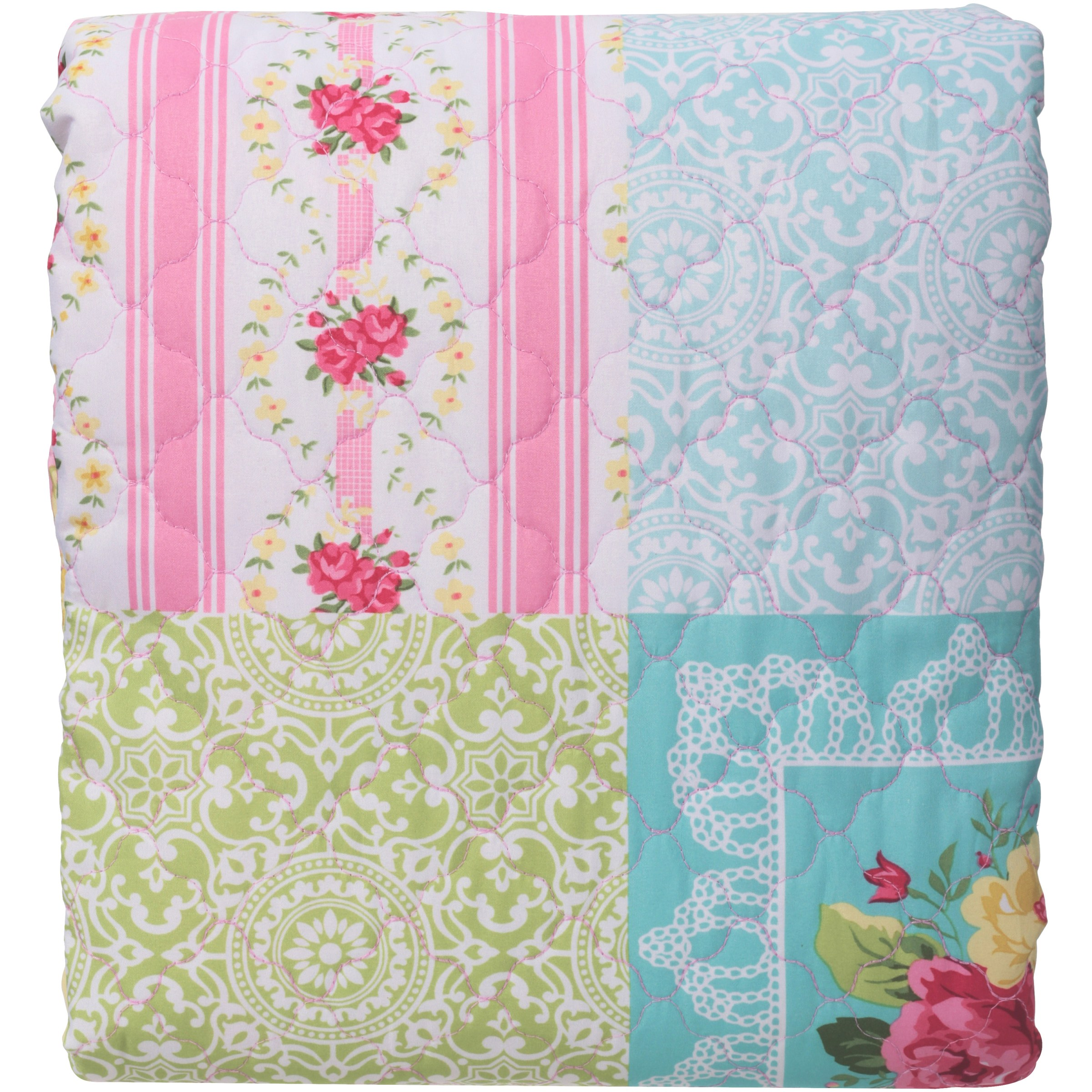 Mainstays™ Kids Twin/Full Quilt Dainty Floral Pack