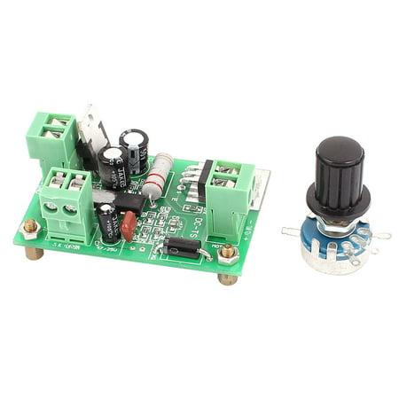 DC 0-40V 3A B4.7K Potentiometer Knob PWM Motor Speed Controller Regulator (Wiring A Potentiometer To A Dc Motor)