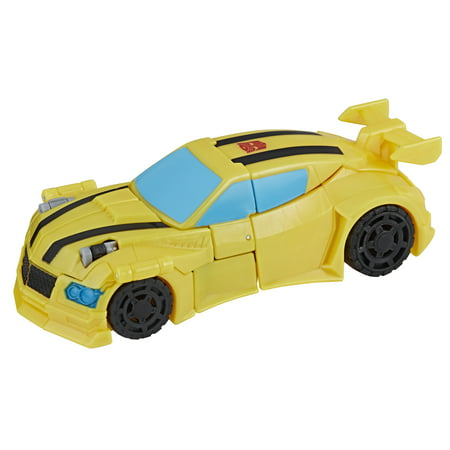 Transformers Cyberverse Warrior Bumblebee - Bumblebee Costume Transforms Into Car