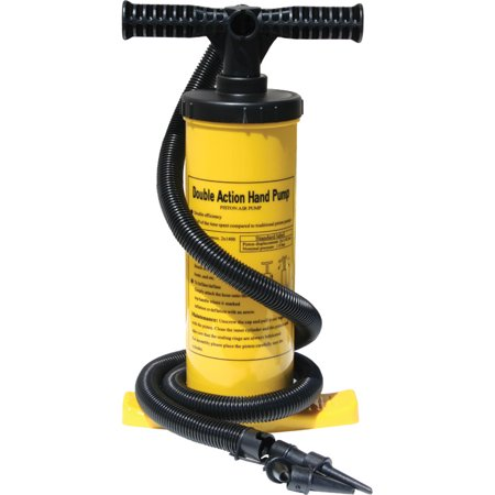 Image of Advanced Elements Double Action Air Pump in Yellow and Black