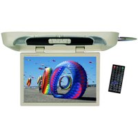 """Tview 20"""" Flip down Monitor with built in DVD Player Tan"""